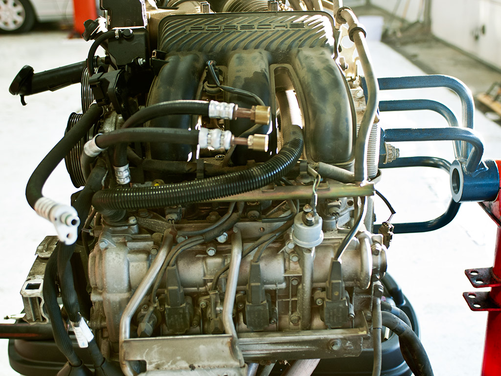 porsche-m96engine-on-stand